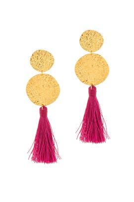 Phoenix Berry Tassel Earrings by Gorjana Accessories