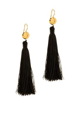 Black Leucadia Earrings by Gorjana