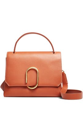 Cognac Alix Mini Top Handle Satchel by 3.1 Phillip Lim Accessories