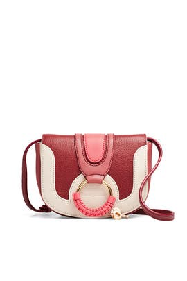Red Colorblock Mini Hana Crossbody by See by Chloe Accessories
