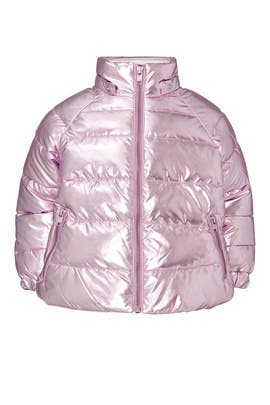 Kids Lilac Puffer Jacket by Stella McCartney Kids