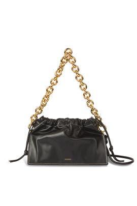 Black Bom Shoulder Bag by Yuzefi