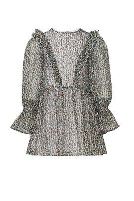 Kids Animal Printed Dress by Philosophy di Lorenzo Serafini Kids