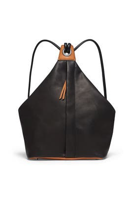 Black Seeker Backpack by rag & bone Accessories