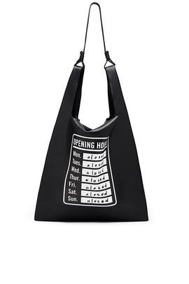 Opening Hours Bodega Bag by Elizabeth and James Accessories