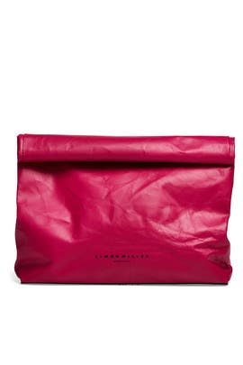 79c91979583 Pink Lunchbag Clutch by Simon Miller Handbags for $75 | Rent the Runway