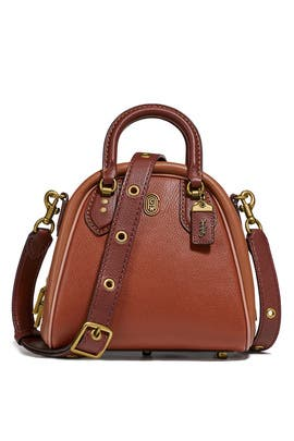 Saddle Multi Marleigh Satchel by Coach Handbags