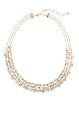 Triple Strand Necklace by Slate & Willow Accessories