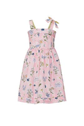 Kids Pink Smock Dress by Il Gufo Kids