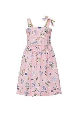 Kids Pink Smock Dress by Il Gufo Kids