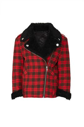 Kids Tartan Coat by Philosophy di Lorenzo Serafini Kids