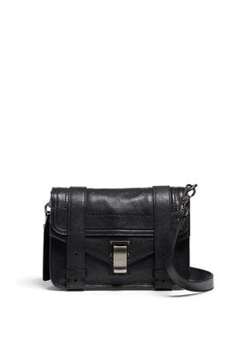 Black PS1 Mini Crossbody Bag by Proenza Schouler Handbags