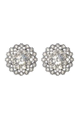 Silver Lilliana Earrings by Juliet & Company