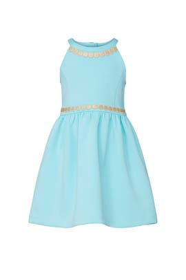 Kids Light Blue Dress by Lilly Pulitzer Kids