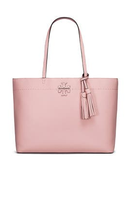 Pink McGraw Tote by Tory Burch Accessories