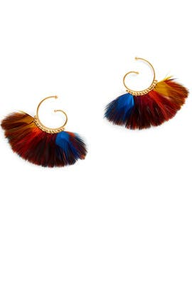 Multicolor Buzios Earrings by Gas Bijoux