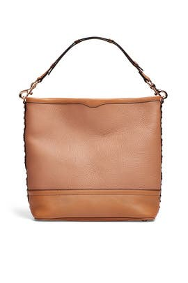 Tan Blythe Hobo Bag by Rebecca Minkoff Accessories