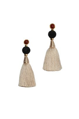Puglia Fringe Earrings by Lizzie Fortunato
