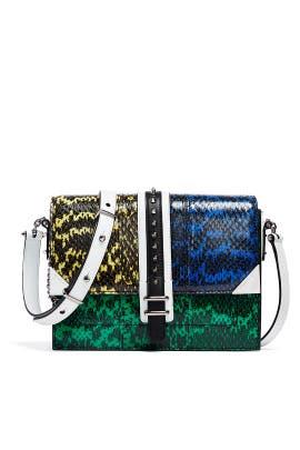 Blocked Watersnake Bag by Barbara Bui Handbags