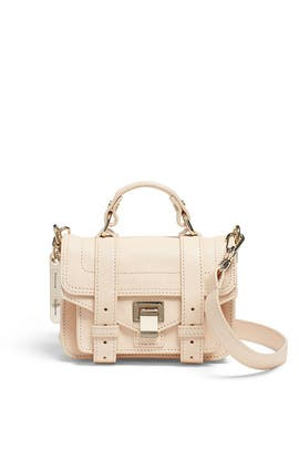 Light Apricot PS1 Micro-Lux Bag by Proenza Schouler Handbags