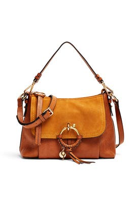 Caramel Buckle Shoulder Bag by See by Chloe Accessories