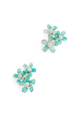 Garden Bouquet Button Earrings by Lele Sadoughi