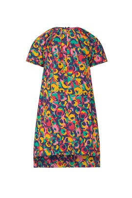 Kids Abstract Tiger Print Dress by Marni Kids