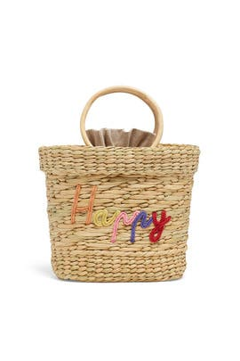 Happy Mak Mini Beach Tote by Poolside