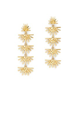 Palm Grass Linear Earrings by Lele Sadoughi