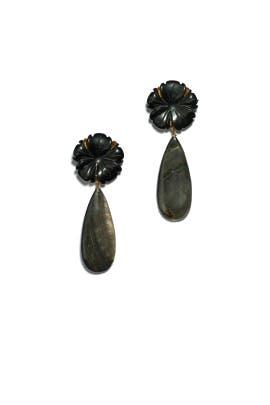 Night Bloom Earrings by Lizzie Fortunato