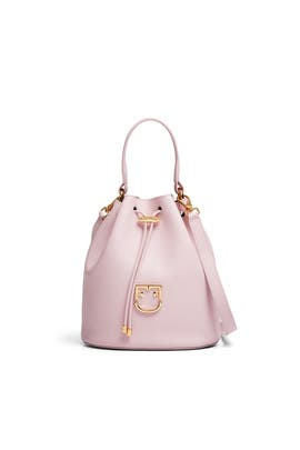 Corona Drawstring Bucket Bag by Furla