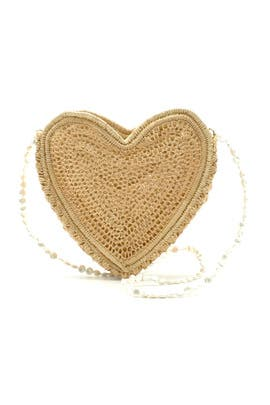 Heart Beat Faster Evening Bag by Poolside