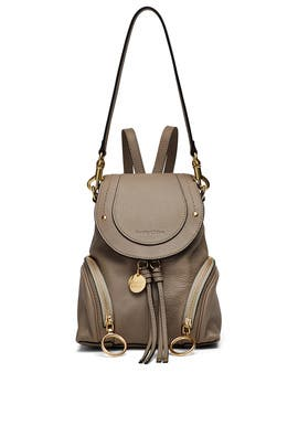 Motty Grey Backpack by See by Chloe Accessories