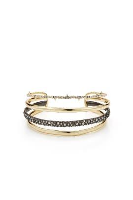 Pave Cuff Bracelet by Alexis Bittar