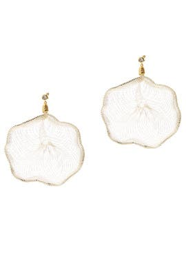Large Fan Earrings by Colette Malouf