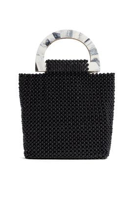 Black Luma Tote by Cleobella Handbags