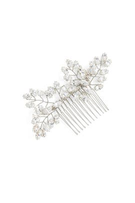 Silver Crystal Headpiece by Ever by Happily Ever Borrowed