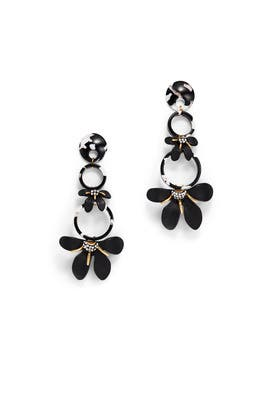 Trumpet Lily Chandelier Earrings by Lele Sadoughi
