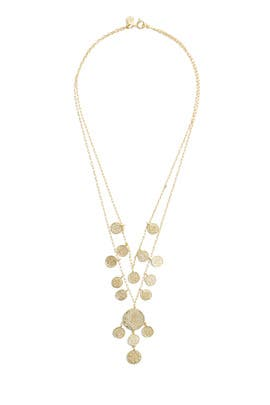 Ana Coin Layered Necklace by Gorjana Accessories