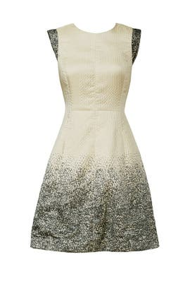 Champagne Shower Dress by HALSTON