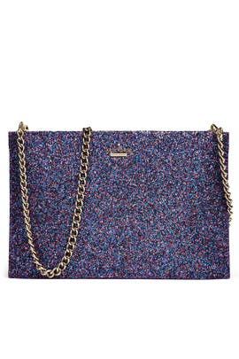 Glitter Sima Clutch by kate spade new york accessories