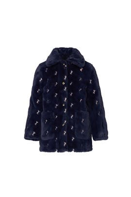 Kids Faux Fur Jacket by Chloé Kids