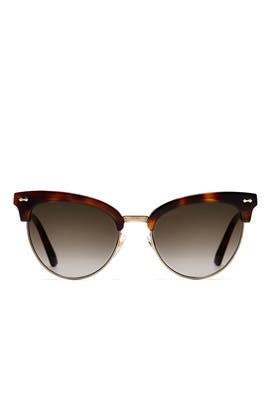 Cat Eye Sunglasses by Gucci