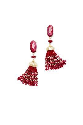 Red Dove Earrings by Kendra Scott
