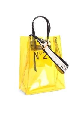 Transparent Mini Shopping Bag by No. 21 Handbags