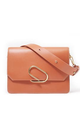 Cognac Alix Shoulder Bag by 3.1 Phillip Lim Accessories