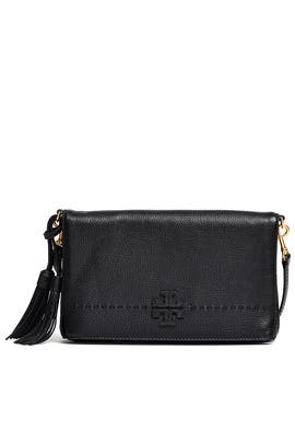 Black McGraw Crossbody by Tory Burch Accessories