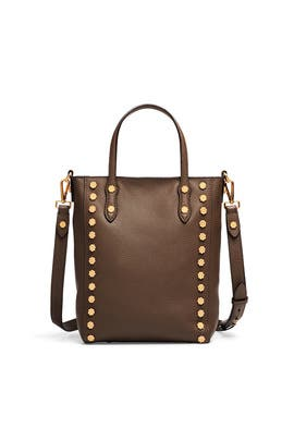 Kelp Daisy Stud Tote by Annabel Ingall