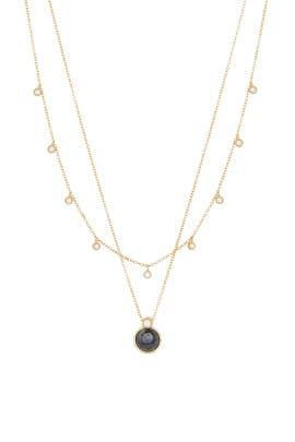 Eloise Gem Layered Necklace by Gorjana Accessories