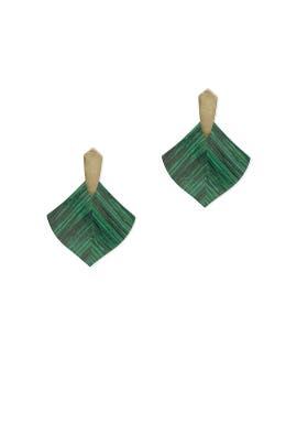 Green Astoria Earrings by Kendra Scott